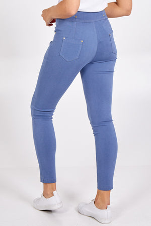 Blue Stretch Denim Skinny Jean