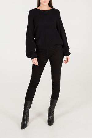 Diamante Tie Back Jumper