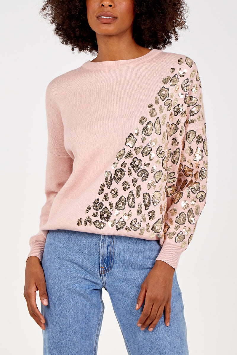 Sequin Patterned Jumper