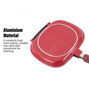Double Side Foldable Frying Pan
