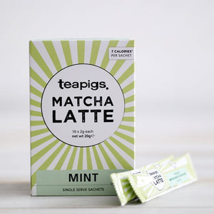 Matcha Mint Latte Sachets (10 Servings) - Matcha Spirits