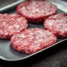 Load image into Gallery viewer, Grass Fed Dry Aged Beef Burgers