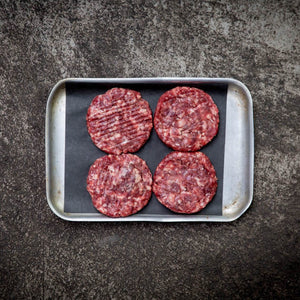 Grass Fed Dry Aged Beef Burgers