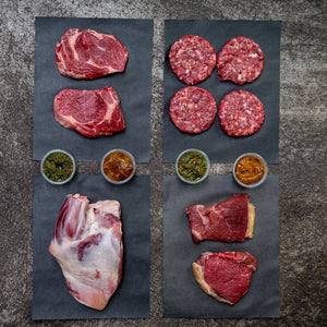 Dry Aged Grass Fed Meat Pack