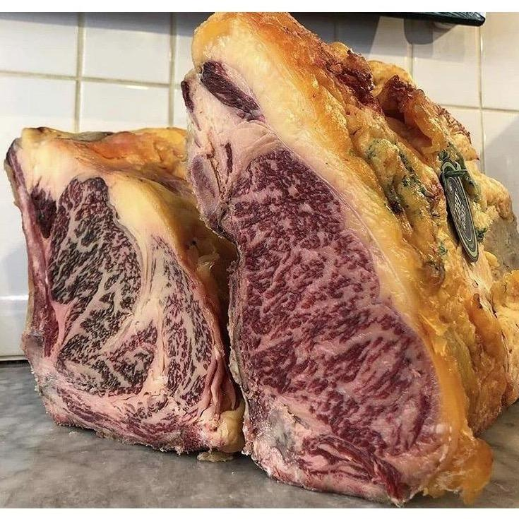 Thick Cut 60 Day Dry Aged Ex-Dairy Sirloin Steak