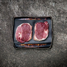 Load image into Gallery viewer, Dry Aged Salt Marsh Lamb Leg Steaks