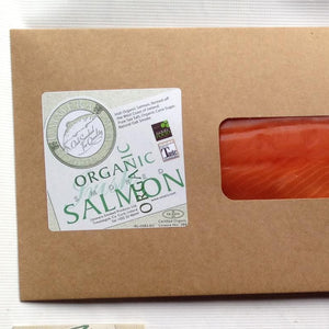Smoked Organic Salmon (Minimum Weight 1.3kg)