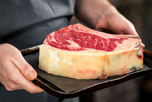 Load image into Gallery viewer, 1kg Prussian Black Dry Aged Bone in Ribeye