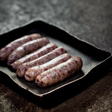 Load image into Gallery viewer, 6 x Rare Breed Pork & Mustard Sausages