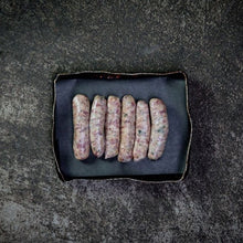 Load image into Gallery viewer, 6 x Rare Breed Pork & Leek Sausages
