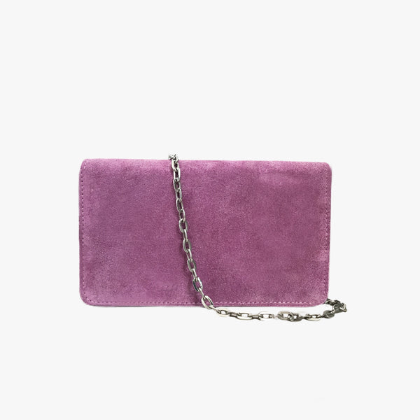 CARRIE - FUCHSIA SUEDE