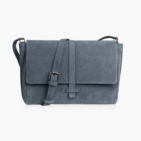 MADISON ADJUSTABLE STRAP - STONE GREY SUEDE