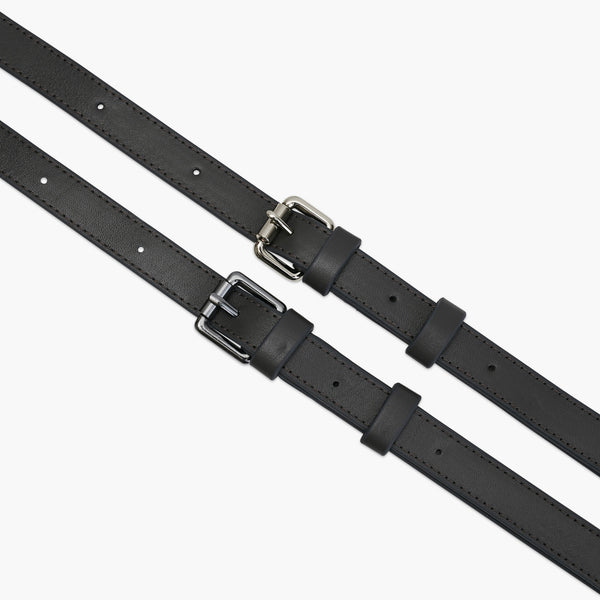MADISON ADJUSTABLE STRAP - ANTRACITE CALF