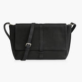 MADISON ADJUSTABLE STRAP - BLACK NATURAL GRAIN
