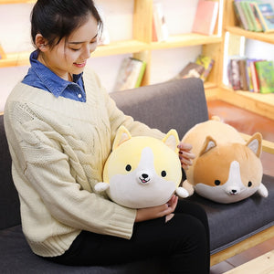 Cute Corgi Plush Toy & Pillow