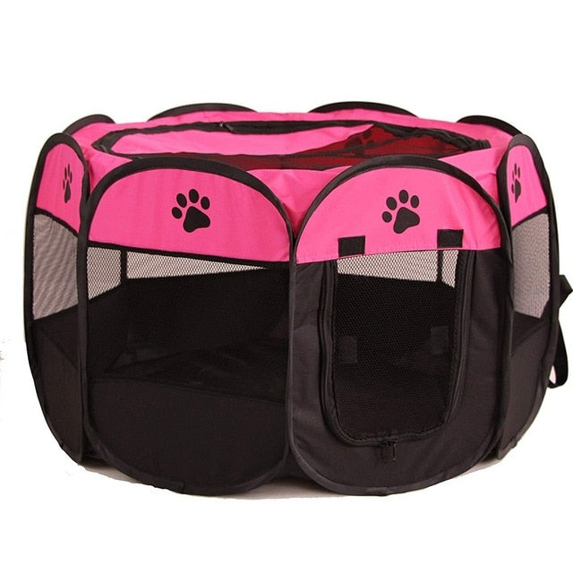 Portable Dog Playpen Kennel