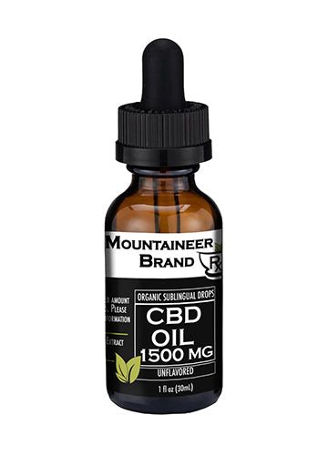 Organic CBD Oil – 1500mg