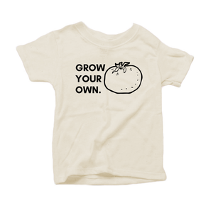 """Grow Your Own"" - Organic Cotton Toddler Tee"