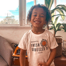 "Load image into Gallery viewer, ""Emmett's OJ"" - Organic Cotton Toddler Tee"