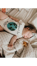 "Load image into Gallery viewer, ""Respect Our Mother"" - Organic Cotton Infant Onesie"
