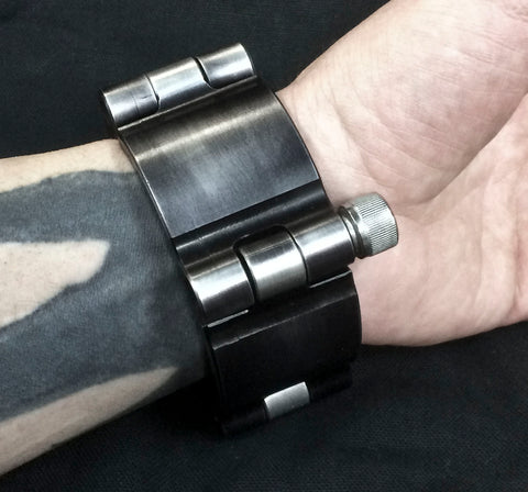 Machined Aluminum Shackle Cuff