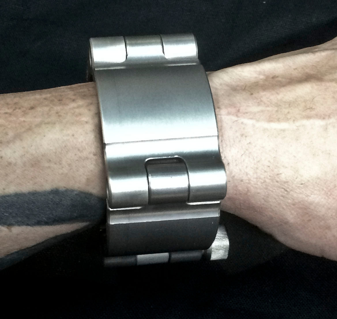 Machined  Aluminum Cuff
