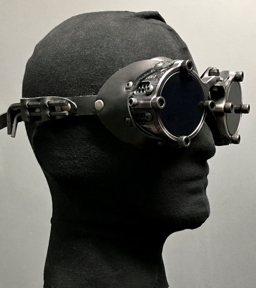 Machined  Goggles  - Antiqued Black