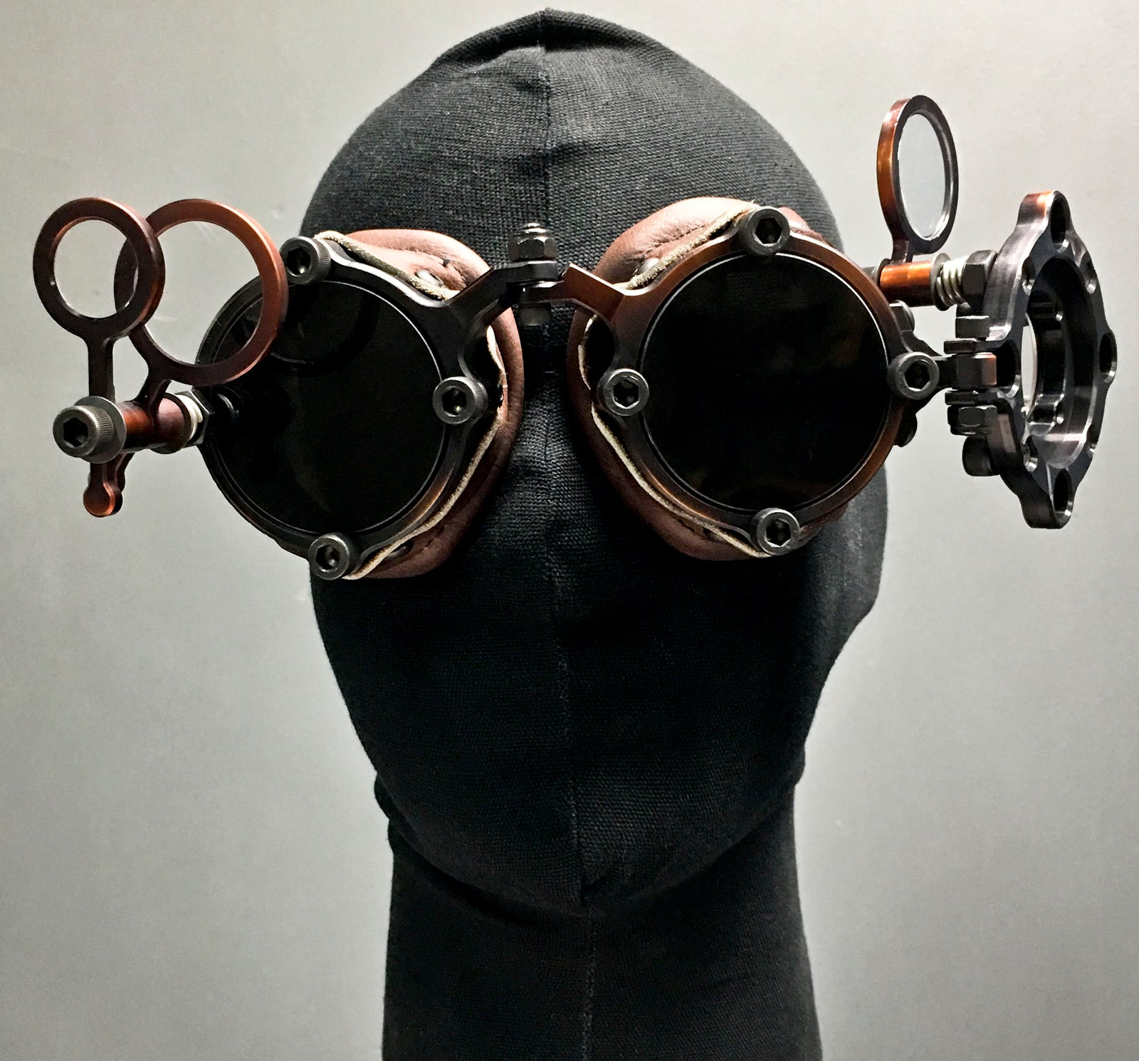 Machined Inspector Goggles  - Bronze