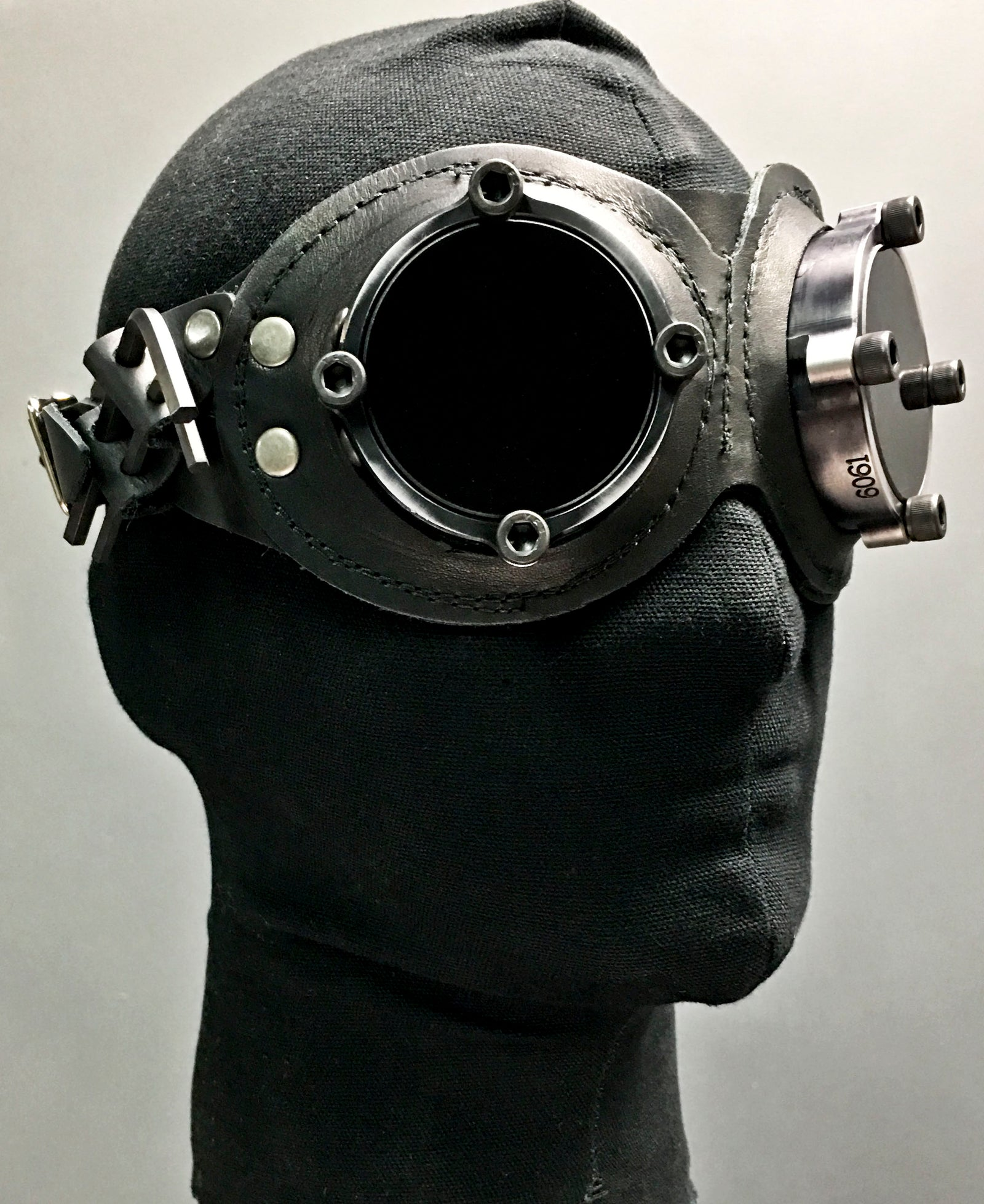 Aviator Goggles - Black