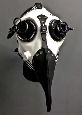 Gas Mask - Slave - Antique Bronze