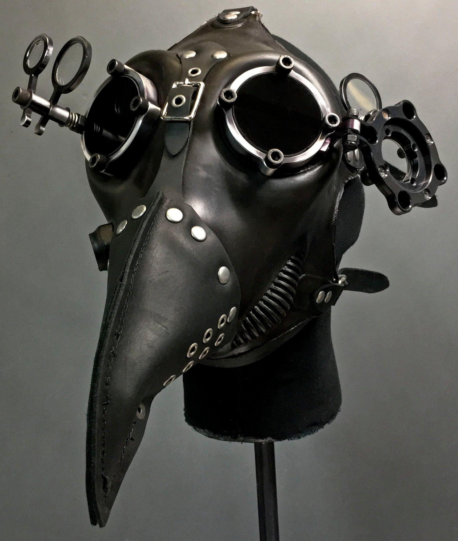Gas Mask - Plague - Black
