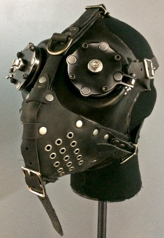 Gas Mask - War - Black