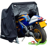 Armadillo Folding Motorcycle Cover Shelter