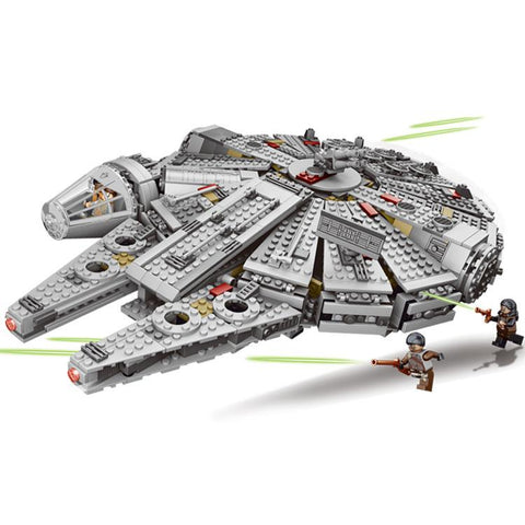 1381 Piece Millennium Falcon Force Awakening Compatible With Lego 79211