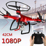 2019 RC Pro Drone Quad-copter 1080P Wifi Camera 20 Min Fly Time