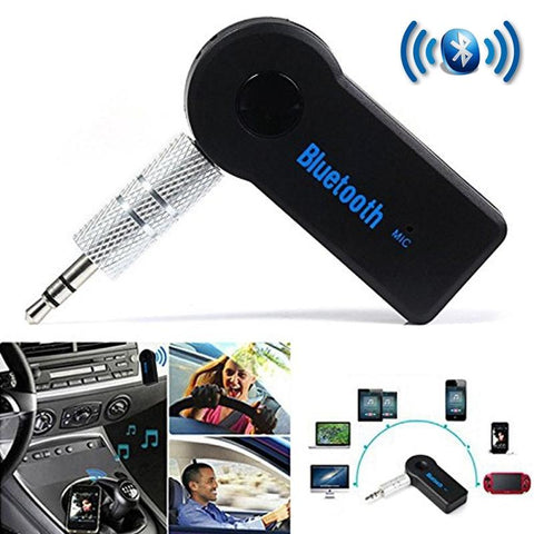 Bluetooth Receiver Makes Any Car Bluetooth Compatible Wireless Hands Free Music