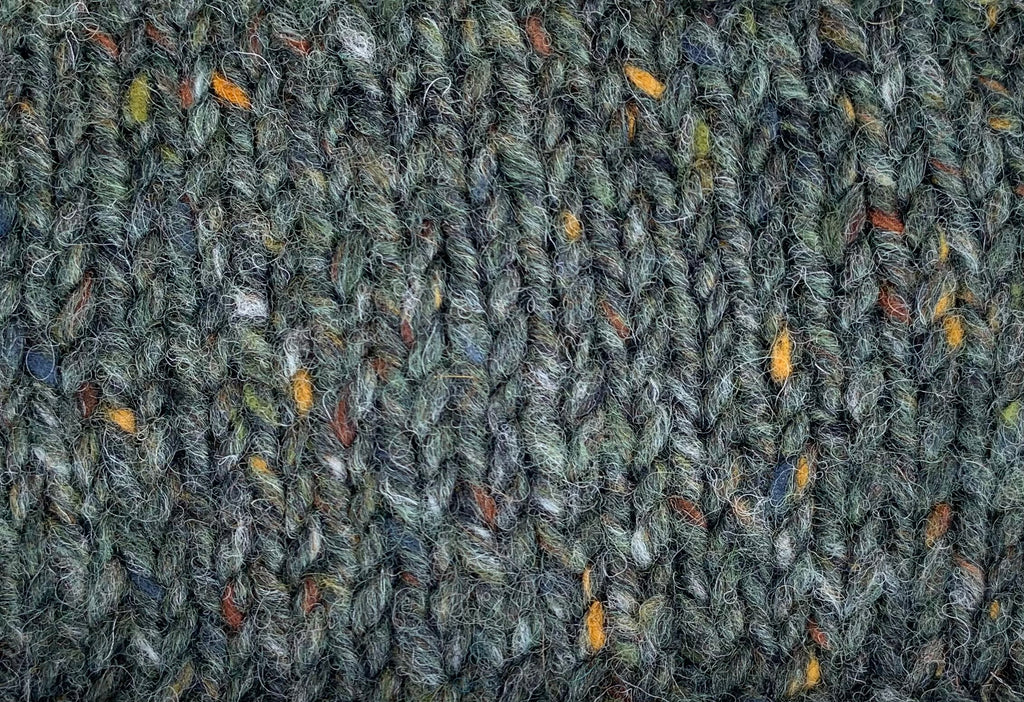 Edel's Wool Tweed Pine Green