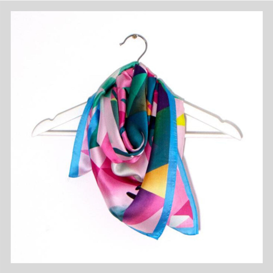 Bright Summer Silky Style Scarf