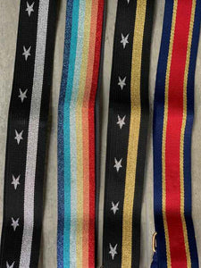 bag straps with stars and stripes