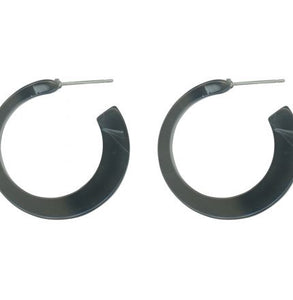 Grey Resin Hoops