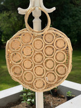 Load image into Gallery viewer, Large Macrame Round Basket