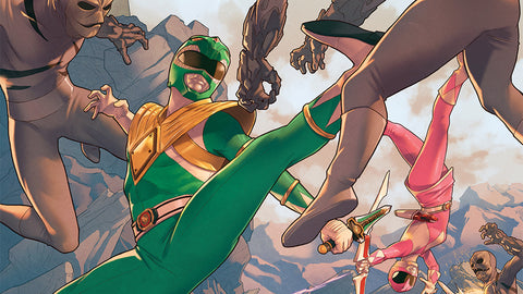 Power Rangers #1 - coming March 2, 2016