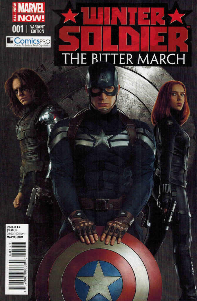 WINTER SOLDIER #1 BITTER MARCH COMICS PRO VARIANT