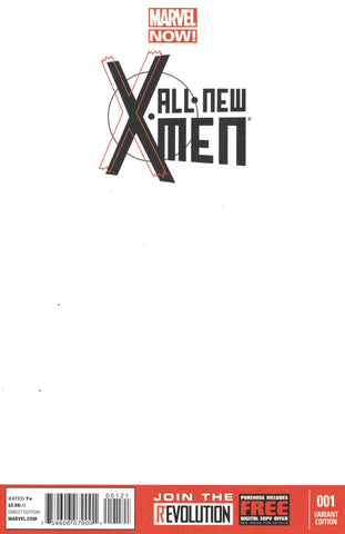 X-Men #1 NOW! Blank Variant Cover