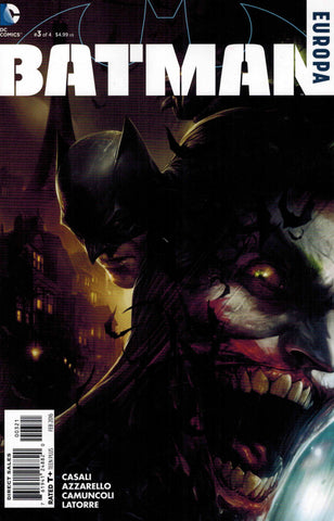Batman Europa #3 - Francesco Mattina 1:25 Variant - Joker