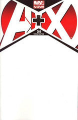 A Plus X #1 Blank Variant Cover