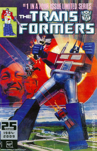The Transformers #1 25th Anniversary Reprint