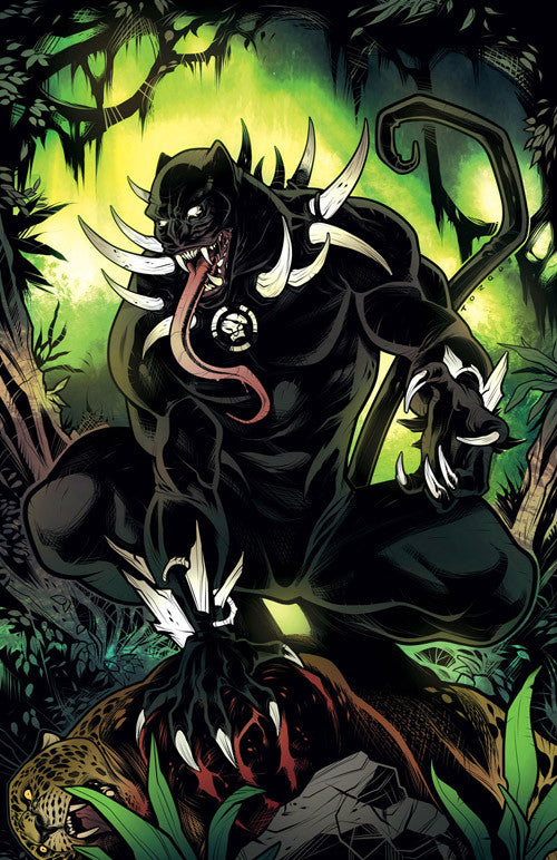 BLACK PANTHER #12 TORQUE VENOMIZED VAR