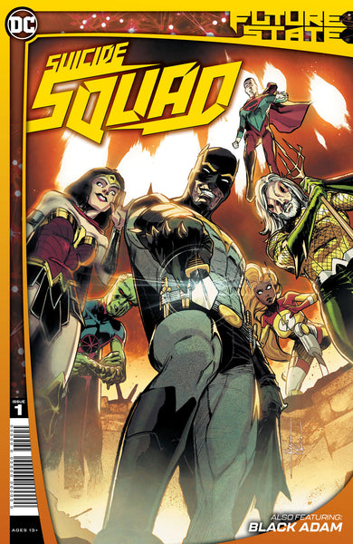 SUICIDE SQUAD #1 Collector's Pack Pre-order