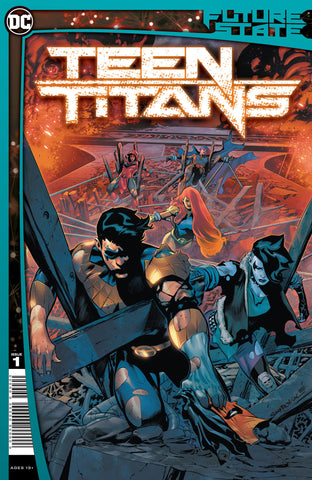 TEEN TITANS #1 Collector's Pack Pre-order